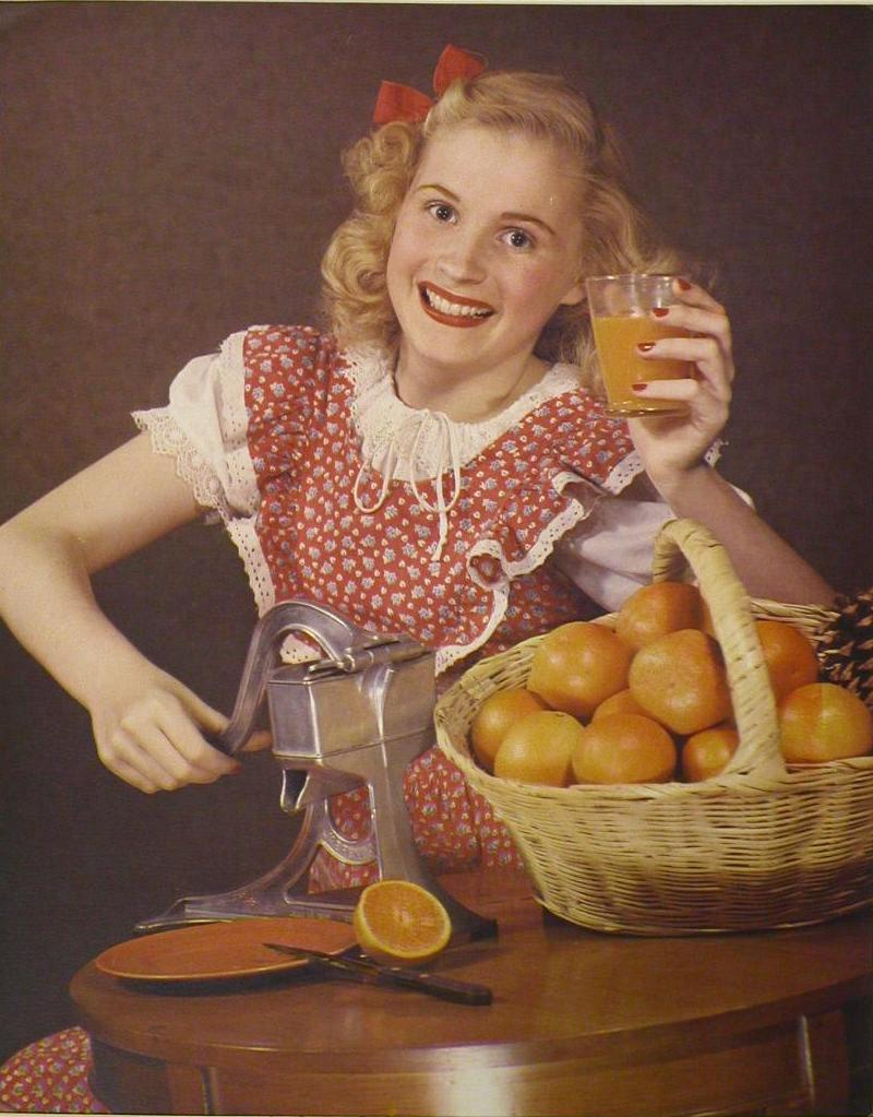 Girl with Oranges Puzzle