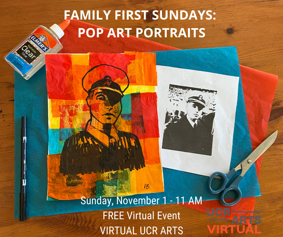 Family First Sundays: Pop Art Portraits