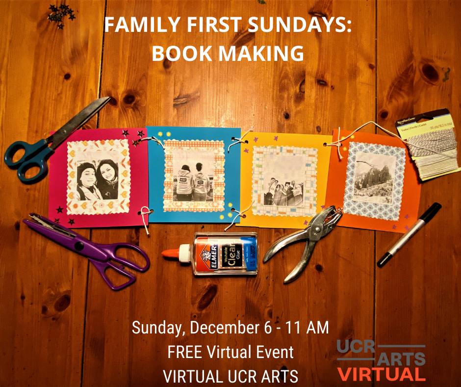 Family First Sundays: Book Making