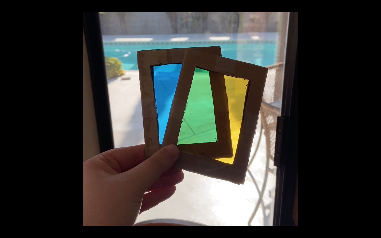 Spring Break Photo Club: DIY Photo Filters